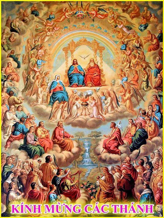 Gx TTS: Chương Trình Phụng Vụ Lễ Các Thánh và Lễ Các Đẳng Linh Hồn 2019