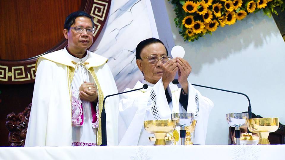 Gx TTS: Thánh lễ Tạ Ơn Chúa - Mừng Kim Khánh Linh Mục Cha Phê-rô Nguyễn Quốc Túy