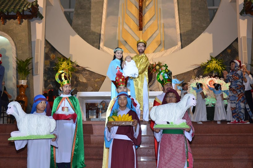 Giáo xứ Tân Thái Sơn: Hình ảnh Hoạt Cảnh Canh Thức Chúa Giáng Sinh 2015