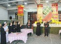 Hội Đồng Giáo Xứ Tân Thái Sơn Đón Giao Thừa Tết Ất Mùi 2015