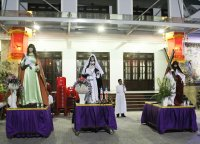 Giáo Dân Tân Thái Sơn Tham Dự Lễ Nghi Ngoài Phụng Vụ (Kiệu đóng đinh)