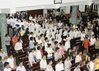 Giáo Dân Tân Thái Sơn Tham Dự Nghi Thức Táng Xác Chúa-thứ sáu Tuần Thánh