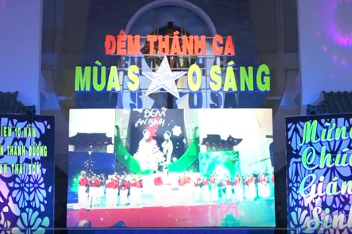 Gx Tân Thái Sơn: Đêm Thánh Mùa Sao Sáng (22/12/2017)